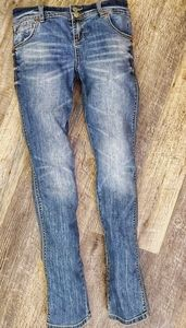 Inc. distressed denim jeans